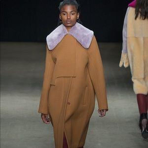 3.1 Philip Lim size0 winter Shearling Collar Coat